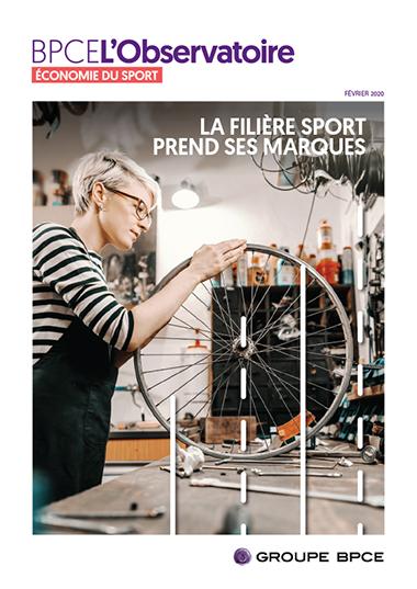 Couverture BPCE L'Observatoire - Economie du sport -