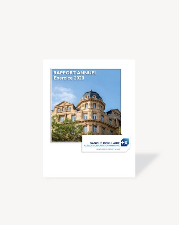 Rapport annuel 2020, BPALC