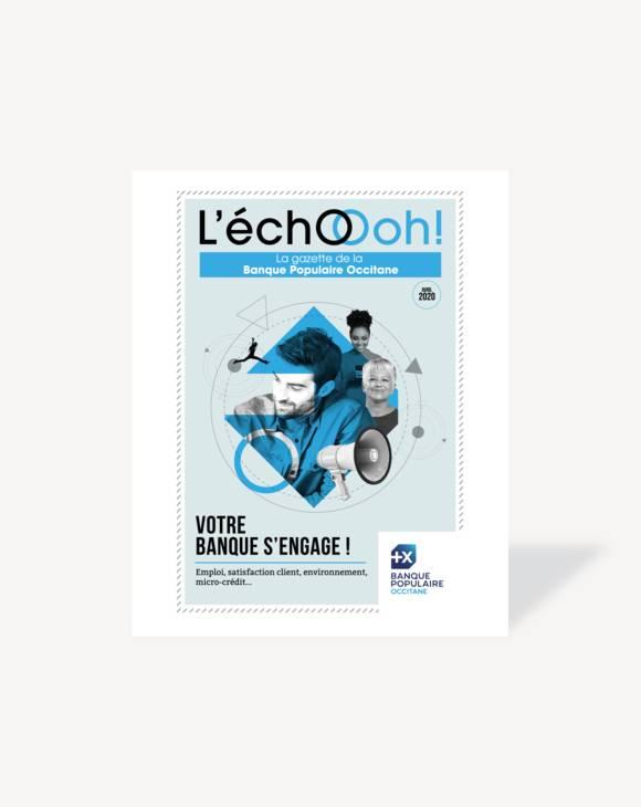 La gazette, Banque Populaire Occitane, Avril 2020