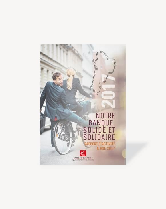 Rapport d'activité Caisse d'Epargne Aquitaine Poitou-Charentes
