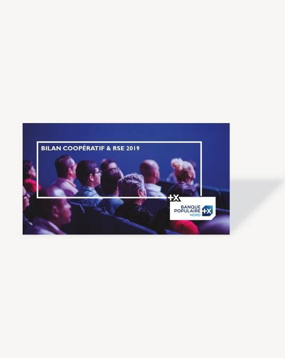 Bilan coopératif et RSE 2019, Banque Populaire du Nord