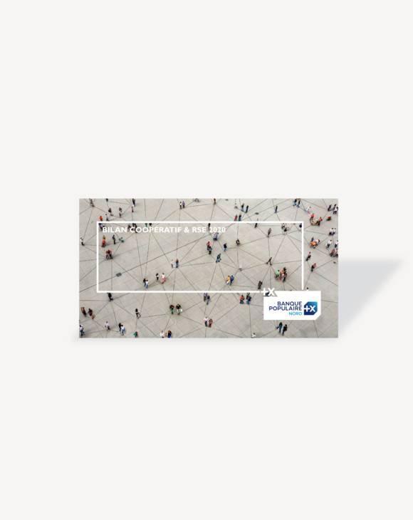 Bilan coopératif et RSE 2020, Banque Populaire du Nord