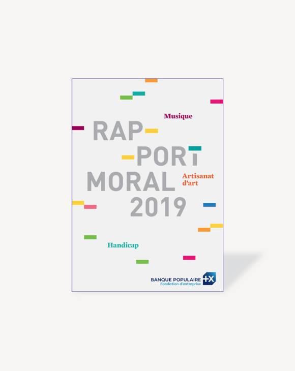 Couverture du Rapport Moral 2019 de la Fondation BP