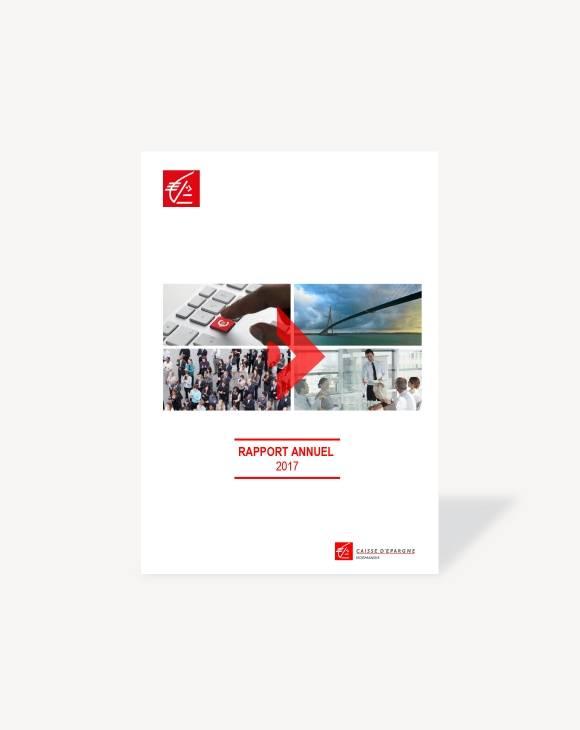 Rapport annuel 2017 Caisse d'Epargne Normandie