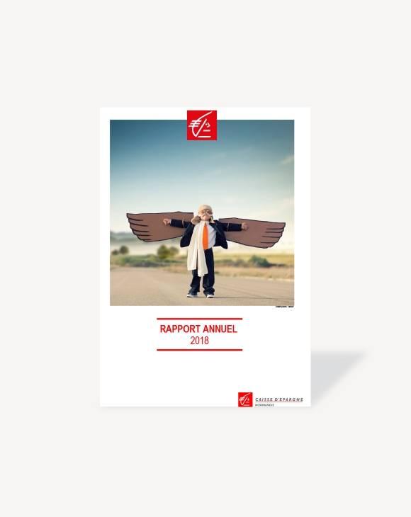 Rapport annuel 2018 Caisse d'Epargne Normandie