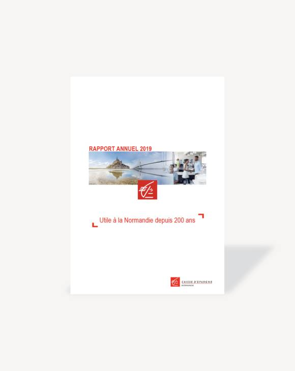 Rapport annuel 2019 Caisse d'Epargne Normandie