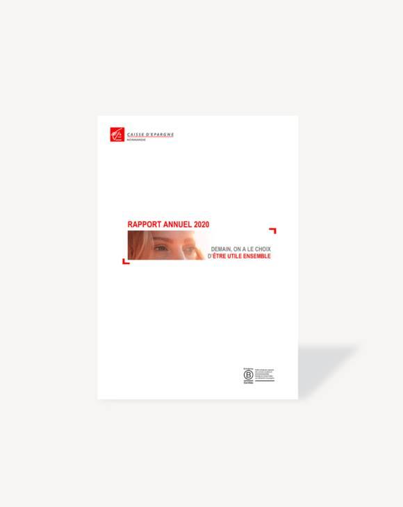 Rapport annuel 2020 Caisse d'Epargne Normandie