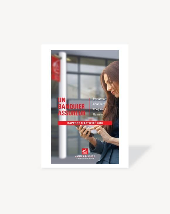 Couverture Rapport d'activité 2018 CE Languedoc-Roussillon