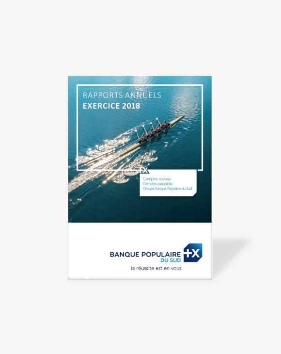 Rapport annuel Banque Populaire du Sud 2018