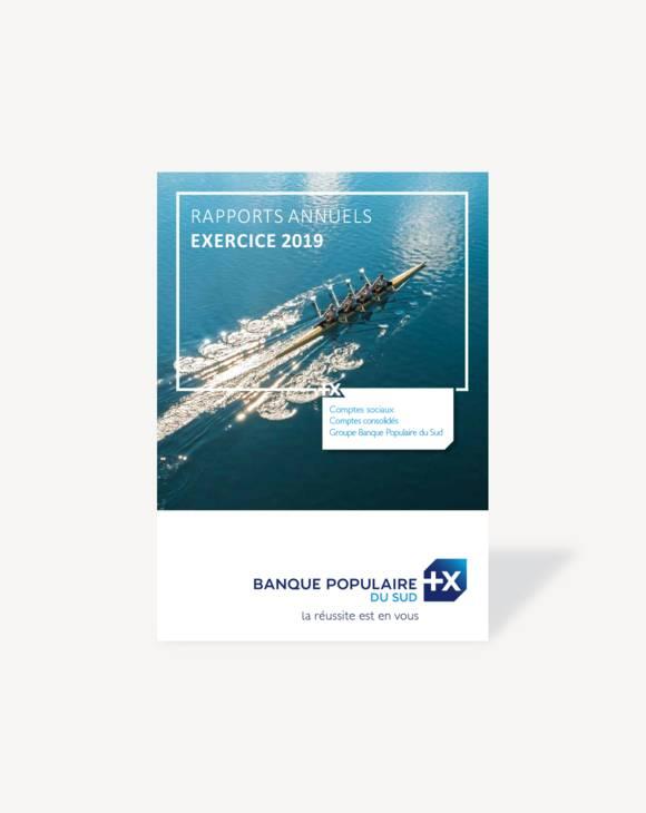 Rapport annuel 2019, Banque Populaire du Sud