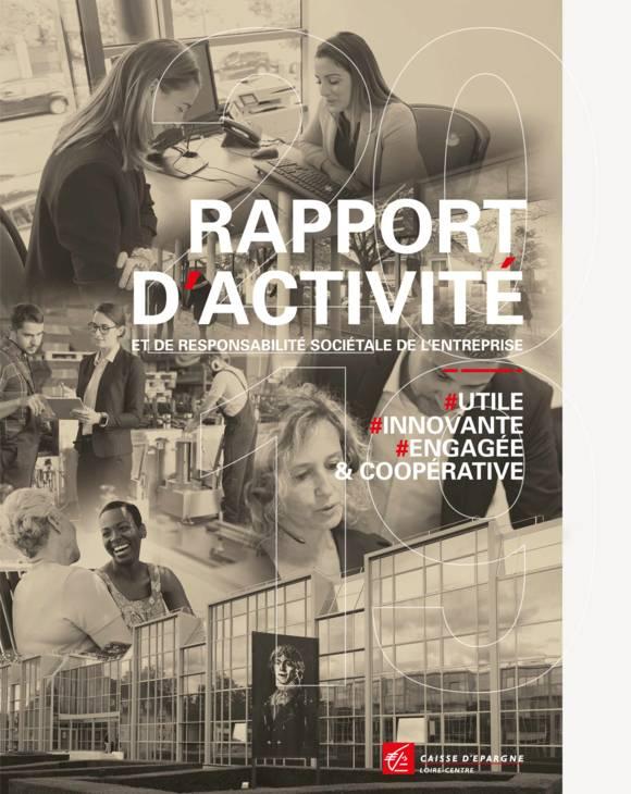Couverture Rapport d'activité 2019 CE Loire-Centre