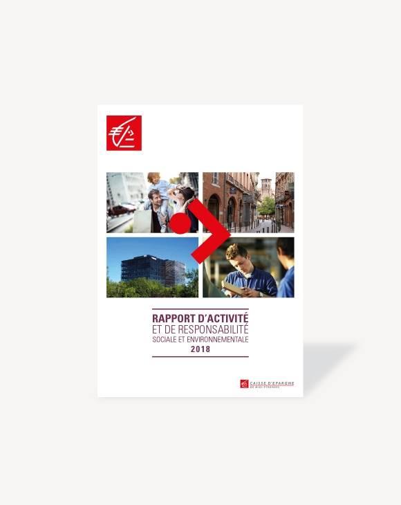 Rapport d'activité Caisse d'Epargne