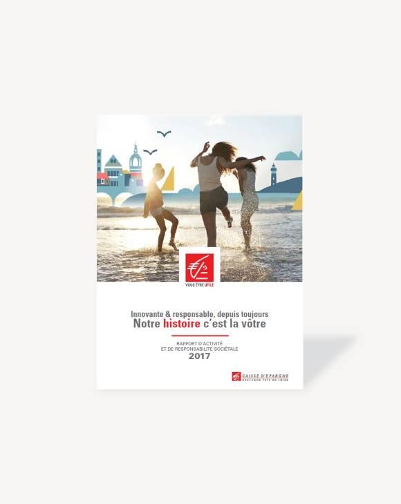 Rapport d'activité et RSE Caisse d'Epargne Bretagne Pays de Loire