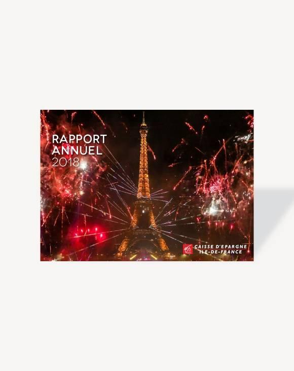 Rapport annuel 2018 Caisse d'Epargne Ile-de-France