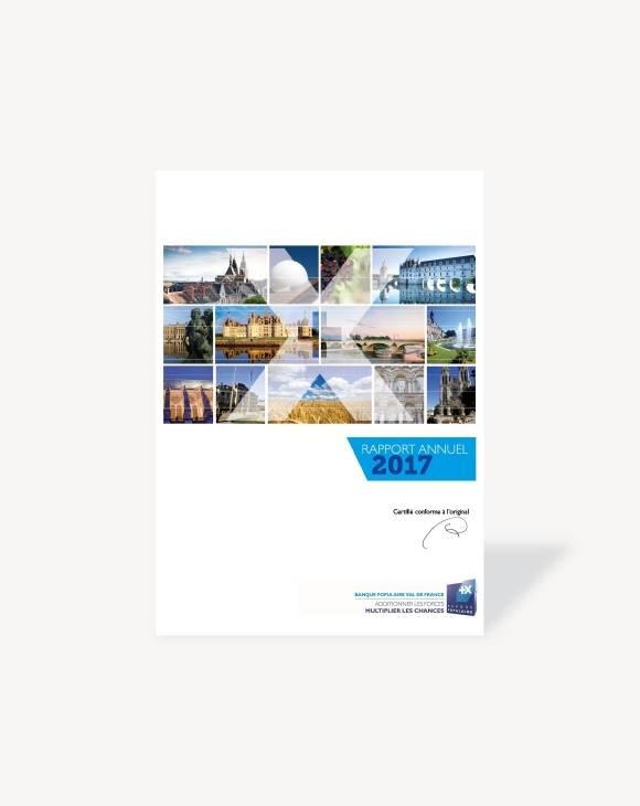 Rapport annuel Banque Populaire Val de France 2017