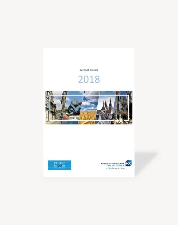Rapport annuel Banque Populaire Val de France 2018