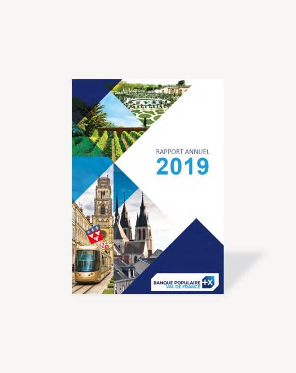 Rapport annuel Banque Populaire Val de France 2019