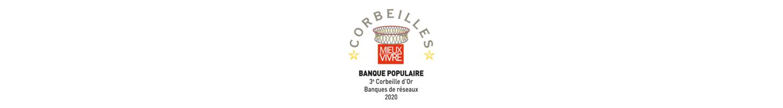 Banque Populaire, 3e place de la Corbeille d'Or Réseau 2020 de Mieux Vivre Votre Argent