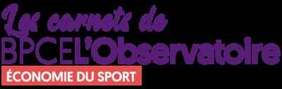 Logo Les Carnets de BPCE L'Observatoire sur l'économie du sport