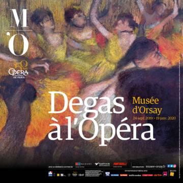 """Affiche de l'expo """"Degas à l'Opéra"""""""