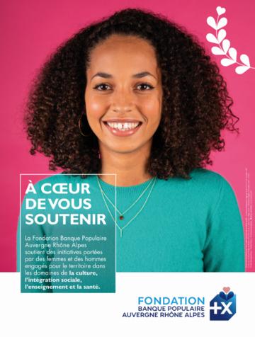 Affiche de la Fondation BPAURA