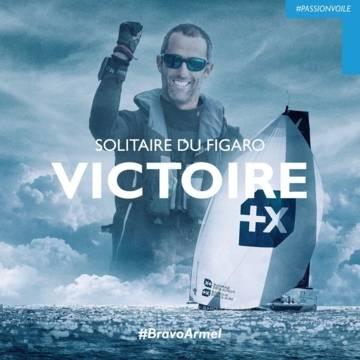 Solitaire du Figaro 2020, victoire d'Armel Le Cléac'h