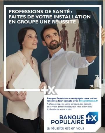 Affiche de la campagne professions de santé