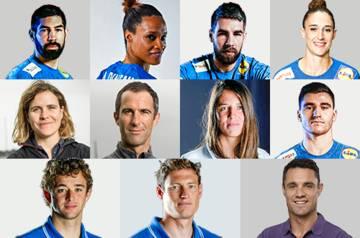 © DR - Les athlètes parrainés par les entreprises du Groupe BPCE