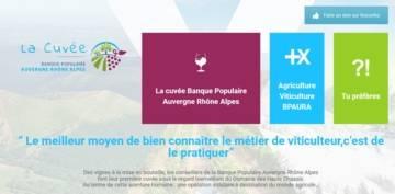 Site Internet la Cuvée BPAURA