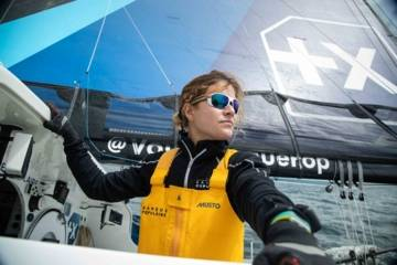 Clarisse Crémer, skipper du Team Banque Populaire