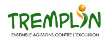 "Affiche Tremplin ""ensemble agissons contre l'exclusion"""