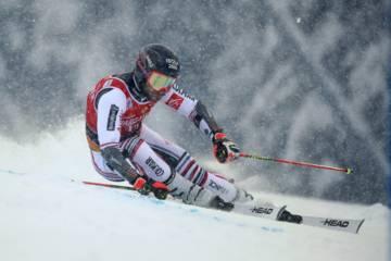 Mathieu Faivre / Slalom Géant en Italie (Santa Caterina Valfurva) le 5 décembre 2020
