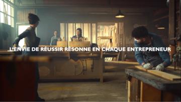 """""""L'hymne à la réussite"""" : le nouveau film Banque Populaire"""
