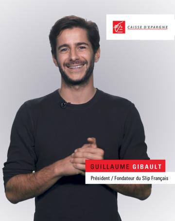 """Guillaume Gibault, fondateur de la start-up """"Le slip français"""