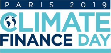 Logo de Climate Finance Day 2019