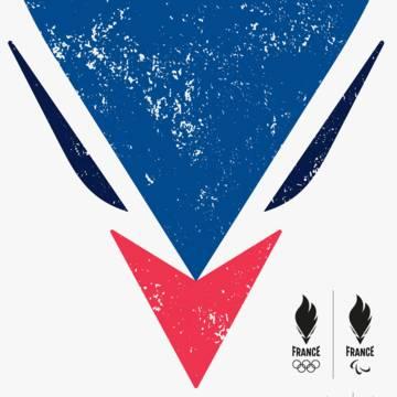 Nouvel emblème de l'équipe de France Olympique et Paralympique