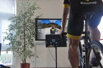 Kinomap, une plateforme interactive de simulation de parcours sportifs