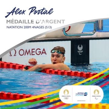 Alex Portal soutenu par la Banque Populaire Val de France