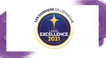 Logo du label de l'excellence 2021