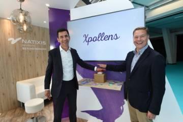 Pierre-Antoine Vacheron, CEO de Natixis Payments et Bill Gajda, SVP Strategic Partnerships Europe de Visa