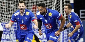 joueurs de l'Equipe de France masculine de handball