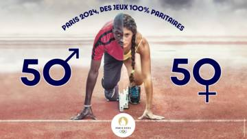 parity between male and female athletes for the 2024 Paris Olympic Games